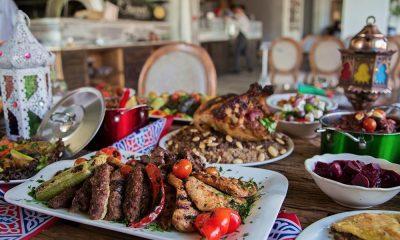 المائدة الرمضانية المصرية