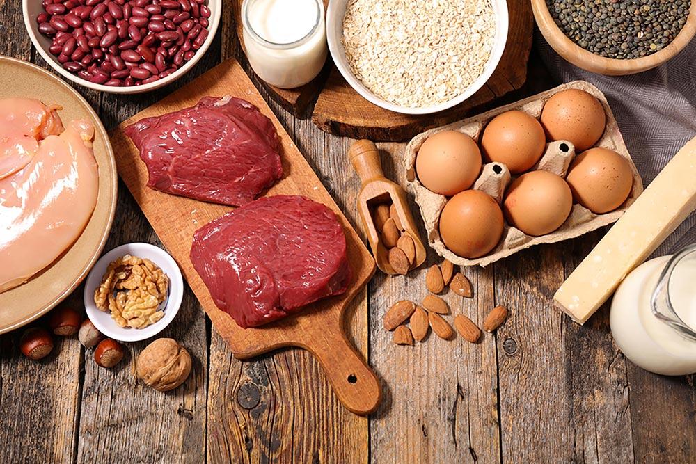 مصادر طبيعية للبروتين1