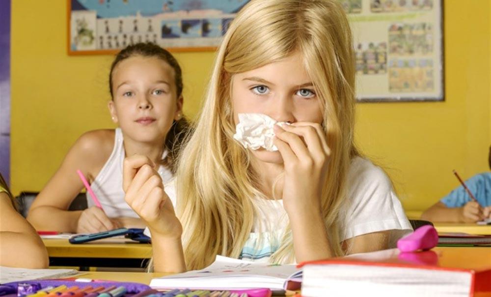 الأمراض المعدية في المدارس والوقاية منها