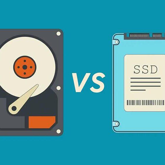 الفرق بين HDD و SSD